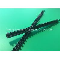 Quality Spirals Black Plastic Binding Combs 10mm 26 Rings Make Sheets Lie Flat for sale