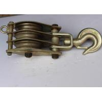 Wholesale Power construction tools two ways dual sheave hoisting tackle from china suppliers