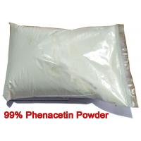 Buy cheap Phenacetin Powder Pharmaceutical Intermediate CAS 62-44-2 Acetophenetidin For Pain Relieving from wholesalers