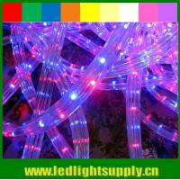 Wholesale DIP 3 wires 11x17mm 110v flat led rope for xmas decoration from china suppliers