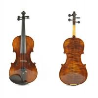 Wholesale High Grade Master Natural Tiger Strip Violin, Antique Oil Varnish Handmade Violin(TYHGV0028) from china suppliers