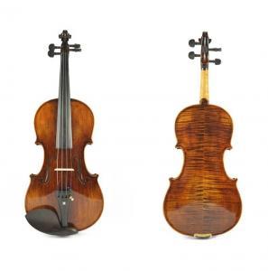 Wholesale High Grade Master Natural Tiger Strip Violin, Antique Oil Varnish Handmade Violin(TYHGV0028) from china suppliers