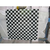 Wholesale 12MM black and white squares glass with CCC certificate for Cellini furniture in singapore from china suppliers