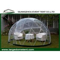 Wholesale Aluminum Frame Prefab Large Glass Dome Tent Garden House For Party from china suppliers