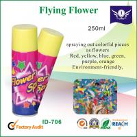 Wholesale Eco Friendly Colorful Party String Spray 250ml , Celebration Flying Flower from china suppliers