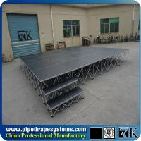 Quality Best sale customized portable smart stage with skirt for church for sale