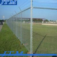 Buy cheap [China factory]high security barbed wire chain link fence (professional factory) from wholesalers