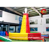 Wholesale Huge Inflatable Climbing Wall , Mountain Inflatable Rock Climbing Wall from china suppliers