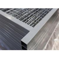 """Wholesale Canada temporary Construction Fence H 6'/1830mm and W 9.6' /2950mm tubing 1""""/25mm thick 1.5mm powder coated grey from china suppliers"""