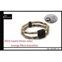 Wholesale Fashionable Elastic Fibre Negative 1000cc--1500cc Ions Power Balance Silicone Bracelet from china suppliers