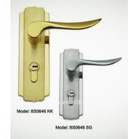 Wholesale Antiqu style waterproof hotel bathroom door lock, cylinder handle lock, beautifull lock from china suppliers