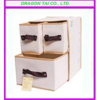 Wholesale fabric foldable storage box, foldable storage bag, foldable drawer from china suppliers