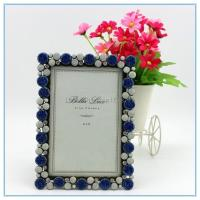 Wholesale Shinny Gifts Metal materials fashion photo frame for wedding gifts from china suppliers