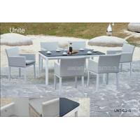 Wholesale Luxury Patio Furniture Garden Patio Table Set All Weather Easy Cleaning from china suppliers