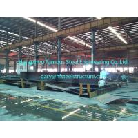 Wholesale Prefabricated Commercial Structural Steel Buildings For Hangars Size 60 X 80 from china suppliers