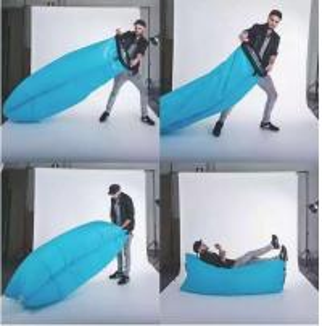 Wholesale Logo printed OEM Custom Inflatable air sleeping bag 210D nylon waterproof from china suppliers