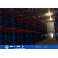 Cold Warehouse Racking System , Unisource Q345 Steel Industrial Storage Shelving