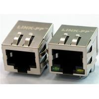 Wholesale HFJ11-RPE26ERL POE RJ45 Connector 10/100Base-TX Magnetic Jack Shielded from china suppliers