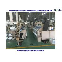 Quality 2.2kw 75 Inch Water Jet Loom Cam Shedding , Home Fabric Weaving Machine for sale