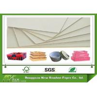 Wholesale Stock Hard Paper Stiffness 1.5mm Grey Paperboard Sheet of Mixed Pulp from china suppliers