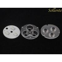 Wholesale Cree XTE SMD Round Led Optics Lenses With Holder Led PCB Soldering from china suppliers