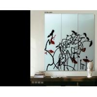 Wholesale Modern Decorative Interior Glass Wall Panels For Home Decor , 3600mm×2400mm from china suppliers