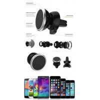 Wholesale Magnetic Car Air Vent Phone Holder Fashional For iPhone / Samsung from china suppliers