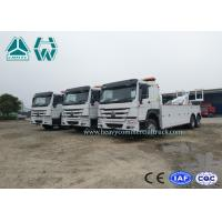 LHD Multi - Way Valve HOWO 6 × 4 Road Recovery Wrecker Tow Truck 371H
