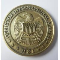 Wholesale 2D or 3D Brass Coins / Campus Coin, challenge coins, commemorative coins, embossed from china suppliers