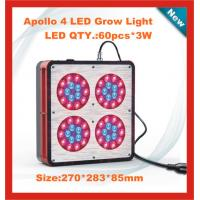 Quality Red color 180W LED grow light with fans for strengthening cooling for sale
