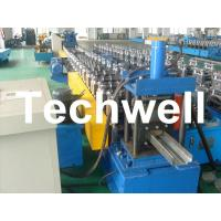 Wholesale 75mm Roller Diameter, 7.5KW Steel Security Door Frame Roll Forming Machine from china suppliers