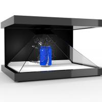 Wholesale Customized  3D Holographic Pyramid Display Showcase Hologram Box from china suppliers