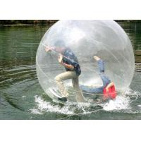 Wholesale Durable 0.8mm PVC Giant Inflatable Hamster Ball for Lake or swimming pool from china suppliers