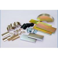 Wholesale OEM & ODM Design Sintered NdFeB Magnets or Flat Magnets Zn coat N42 N45 N48 neodymium from china suppliers