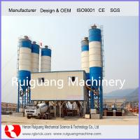 Wholesale ready mixed-concrete 2HZS50 concrete mixing plant with double concrete mixer from china suppliers