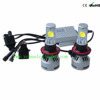 Wholesale H13 72W CREE LED Headlight High/Low Universal 12V/24V Car Truck White 6500K 6400lm D1 D2 D from china suppliers