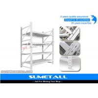 Quality Heavy Duty Long Span Shelving Warehouse Storage Racks Galvanized Surface for sale