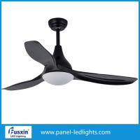 Wholesale 52'12w The latest style 3 leaves LED fan lights white ceiling fan lights from china suppliers