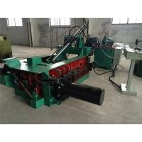 Wholesale Stainless Steel Scrap Hydraulic Scrap Baler Machine , Turn - Out Stype Baling Press Machine Y81F - 315 from china suppliers