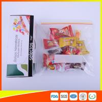 Wholesale Durable Plastic Ziplock Snack Bags For Candy / Biscuits Storage Food Grade from china suppliers
