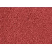 Wholesale Plain Coloured Wine Red Boiled Wool Fabric Australia 148CM Width from china suppliers