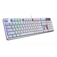 Wholesale Blue Switch Mechanical Keyboard Rainbow , RGB Gaming Keyboard Backlit from china suppliers