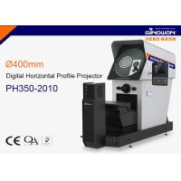 Wholesale 200*100mm Ø350mm Optical Measuring Machine , Digital Horizontal Profile Projector with Colorful DRO DP400 from china suppliers