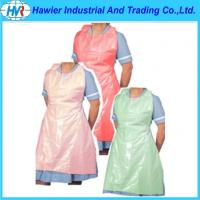 Buy cheap Medical Colored Disposable PE Apron from wholesalers