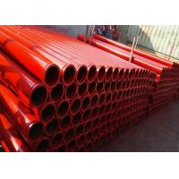 Wholesale St52 Seamless Concrete Pump Pipeline 12,000-50,000 M³ Life Time For Industrial from china suppliers