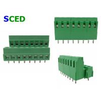 Wholesale Pitch 3.8mm PCB Terminal Blocks, Double Level Clamp Euro Screw Terminal Block from china suppliers
