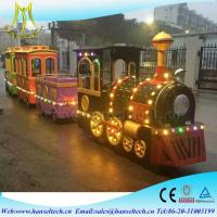 Wholesale Hansel Amusement park electric trackless train for kids ride in the playground from china suppliers