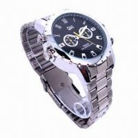 Buy cheap 1080p IR Spy DVR Watch Camera with Waterproof Function from wholesalers