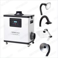 Wholesale M6001DW Digital Nail Salon Fume Extractor / White Color Medical Portable Smoke Extractor 80W from china suppliers