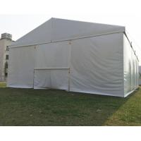 Wholesale Clear Span Fabric Structures Outside Canopy Tent , Temporary Warehouse Tent White from china suppliers